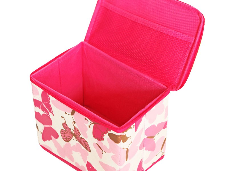 Fabric Storage Boxes With Lids