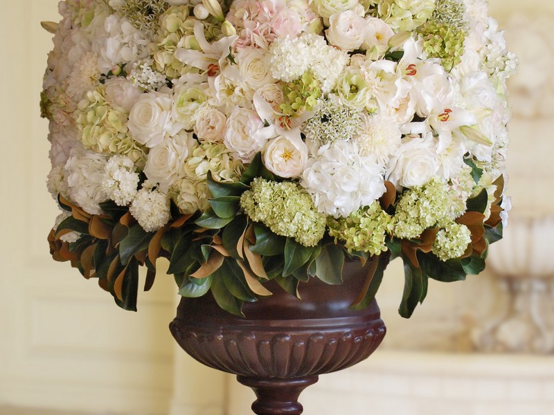 Fake Floral Arrangements Centerpieces