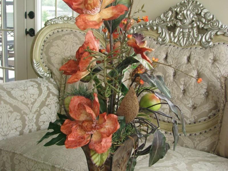 Fake Flower Arrangements Ideas