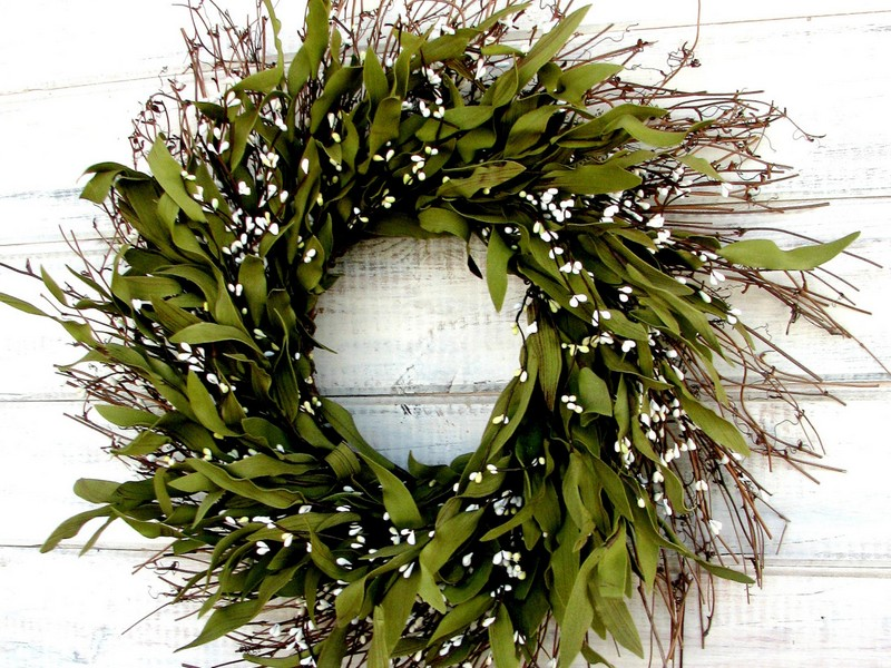 Fall Winter Door Wreaths