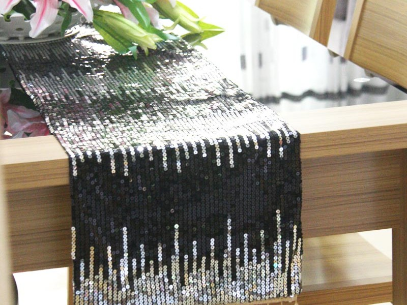 Fancy Beaded Table Runners