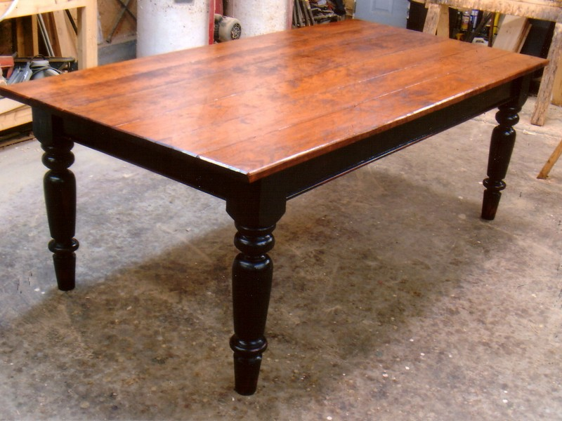 Farm Table Green Legs