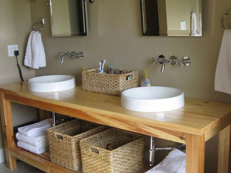 Farmhouse Bathroom Vanity Plans
