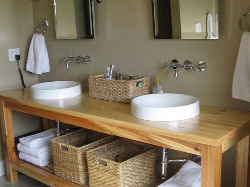 Farmhouse Bathroom Vanity Plans