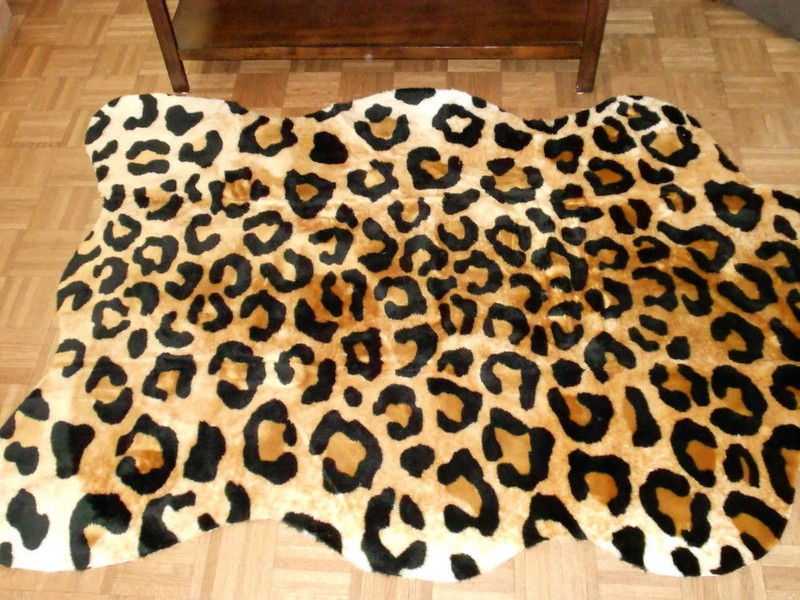 Faux Animal Hide Rugs