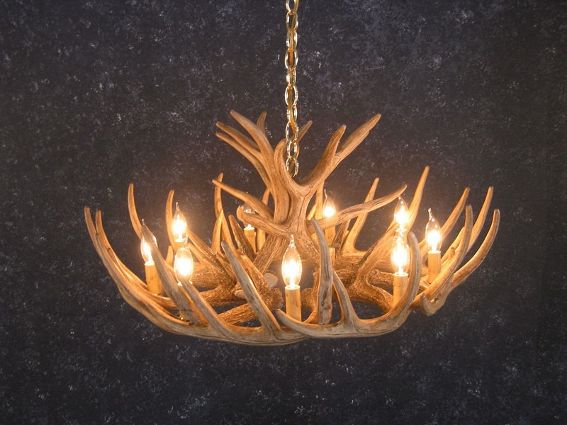 Faux Antler Chandelier Cheap