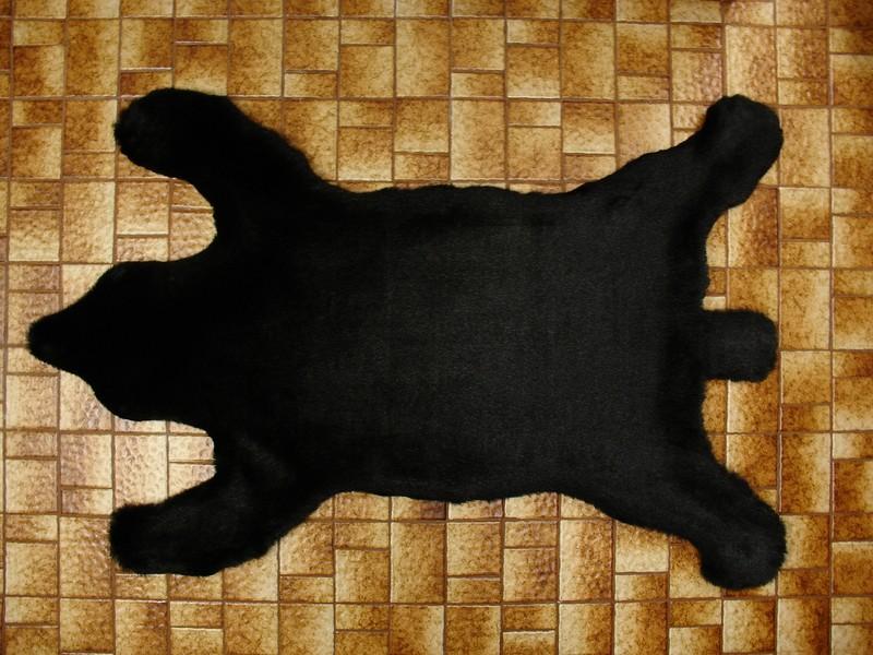 Faux Bear Skin Rug