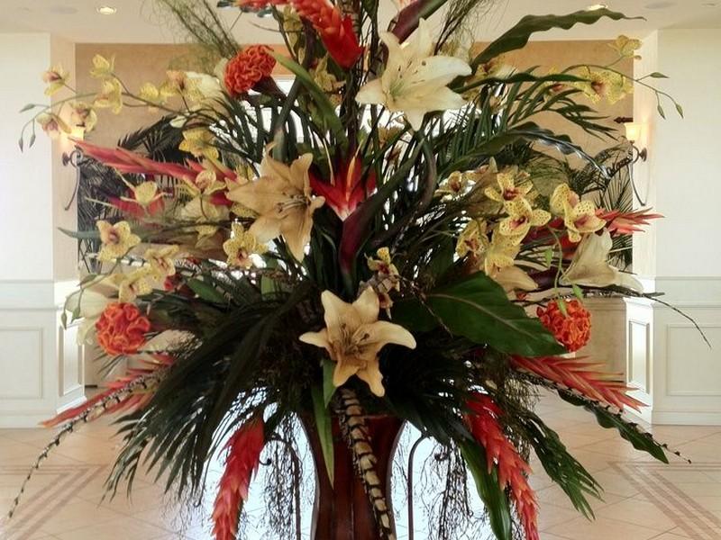 Faux Floral Arrangements Ideas