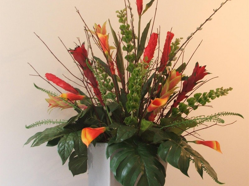 Faux Flower Arrangements Uk