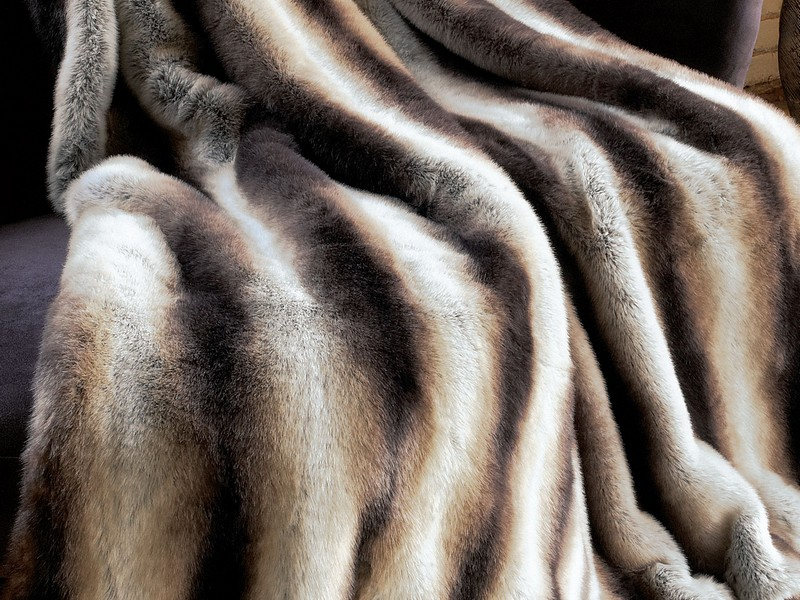Faux Fur Blanket King Size