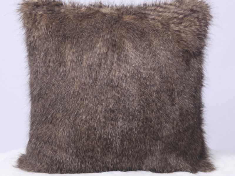 Faux Fur Throw Pillows