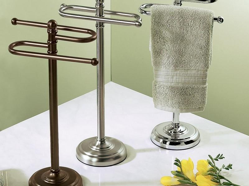 Fingertip Towel Holder In Bronze