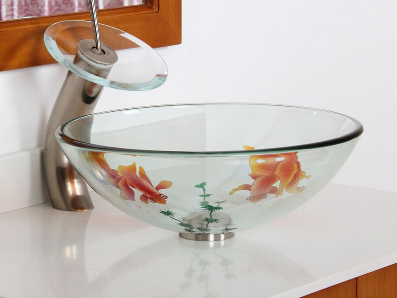 Fish Bowl Sink Bathroom