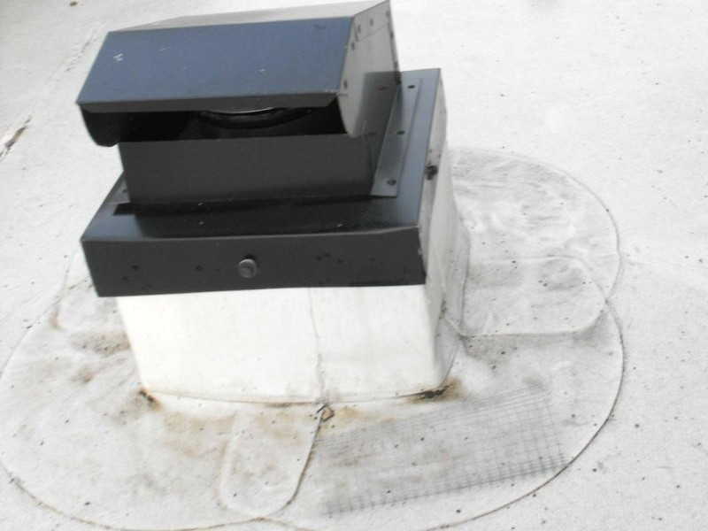Flat Roof Bathroom Vent