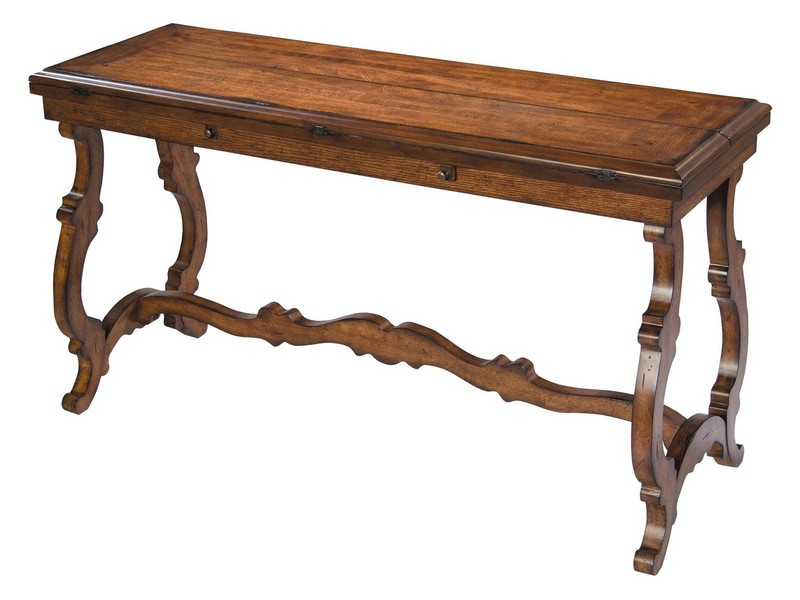 Flip Top Console Sofa Table