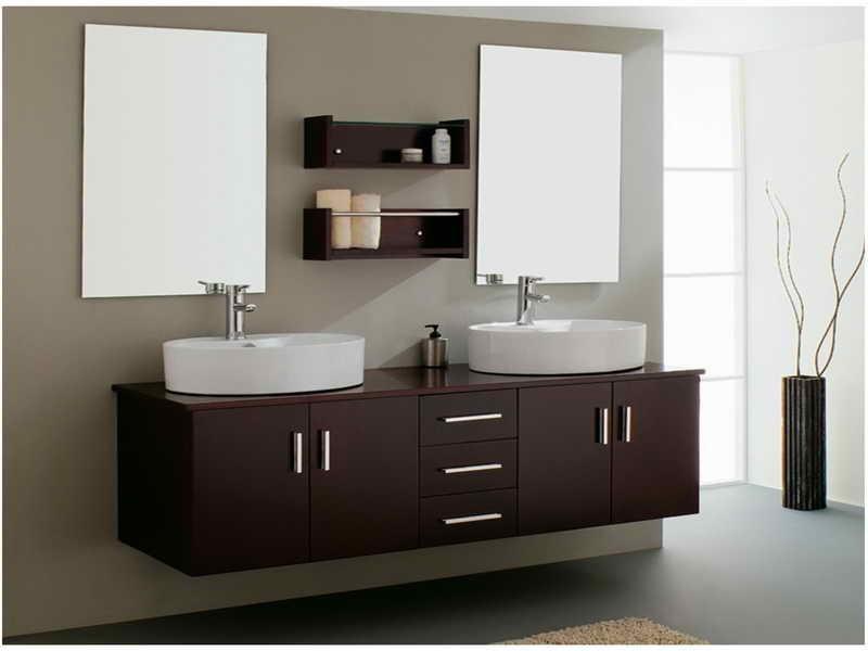 Floating Bathroom Sink Cabinets