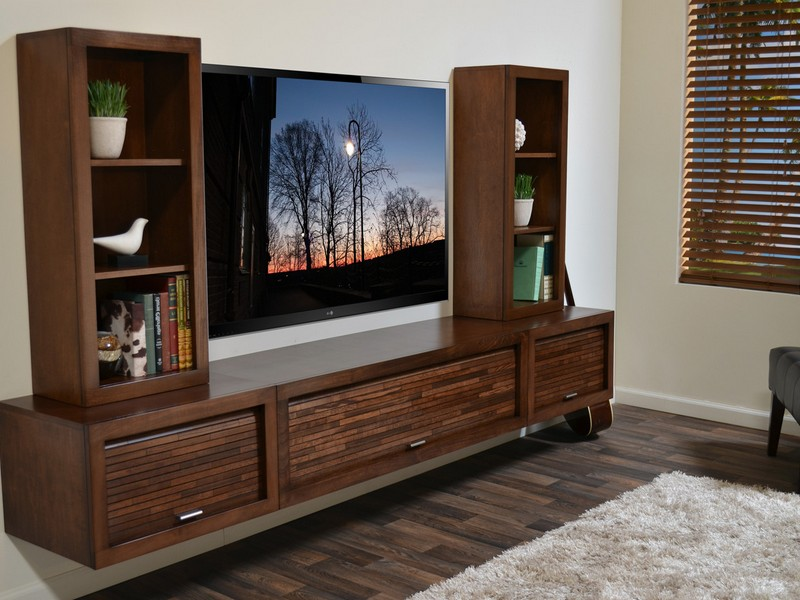 Floating Entertainment Shelf