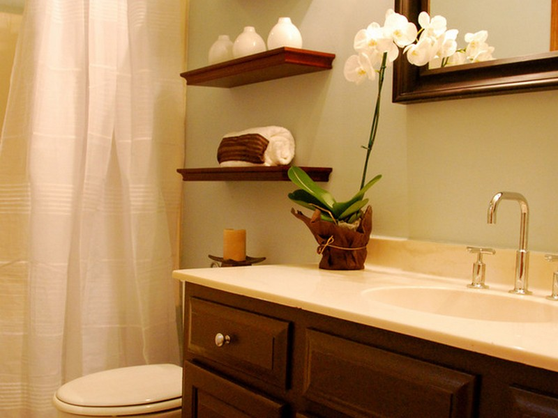 Floating Shelves Ideas Bathroom