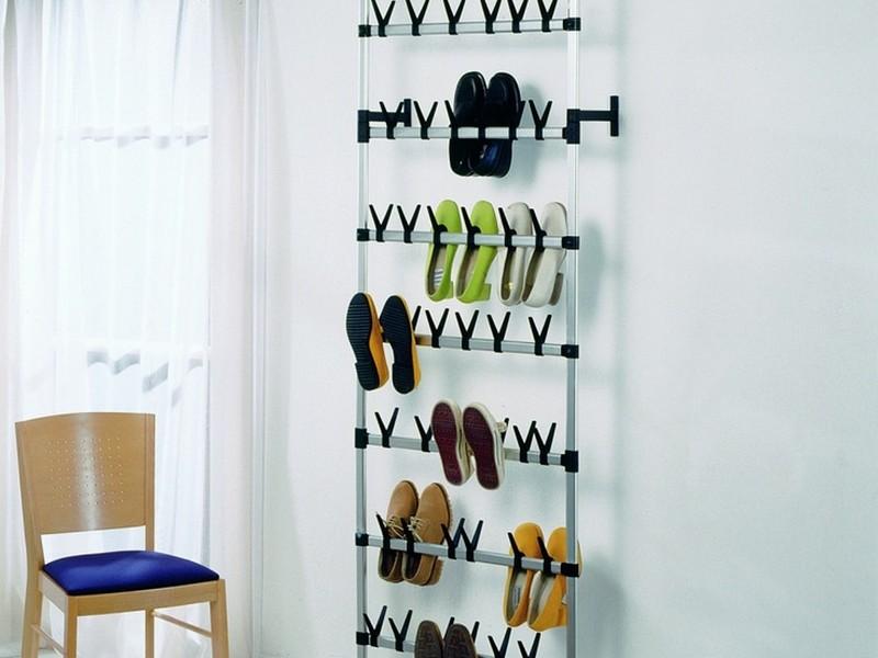 Floor To Ceiling Shoe Rack