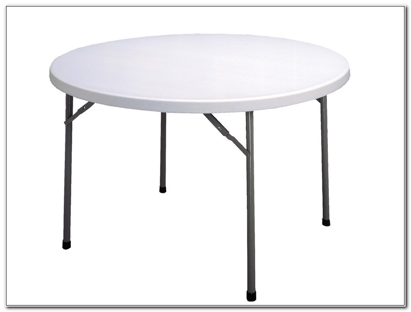 Foldable Round Table Tops