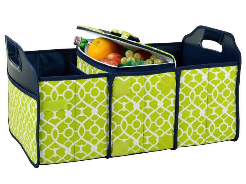 Foldable Trunk Organizer And Cooler