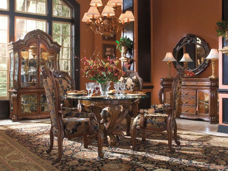 Formal Dining Room Sets Round Table