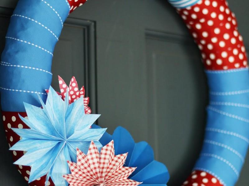 Fourth Of July Wreaths Diy