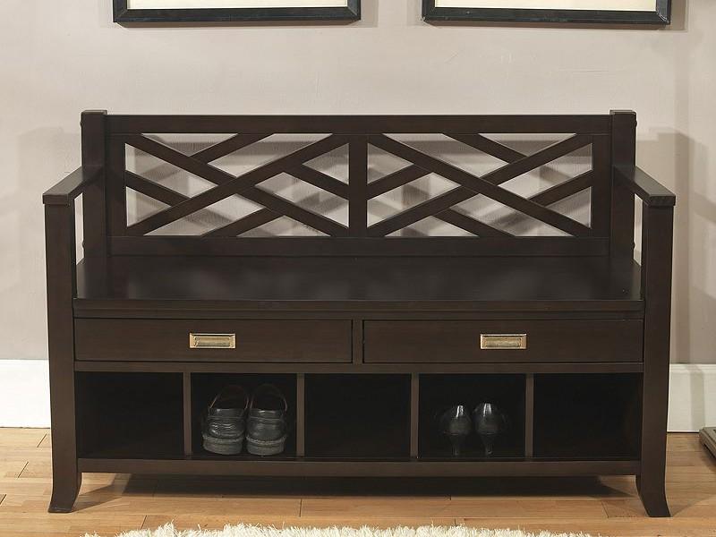 Foyer Bench With Storage