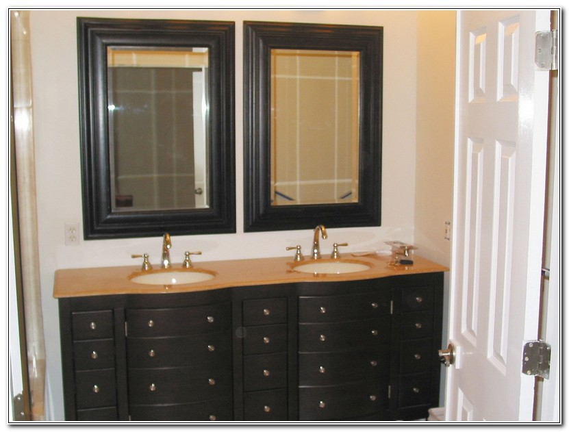 Framed Bathroom Mirrors Ideas