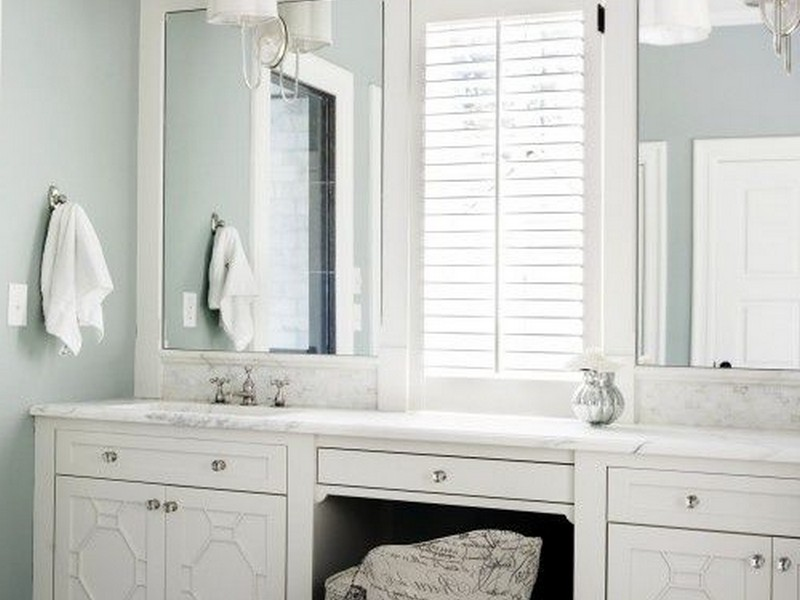 Framed Vanity Mirrors