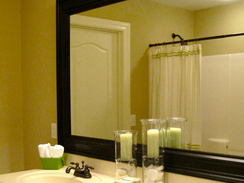Frames For Bathroom Mirrors Lowes