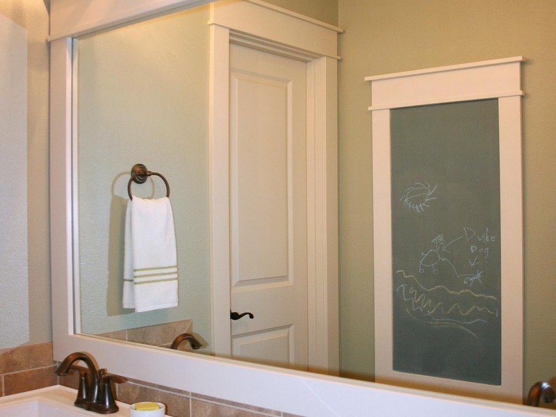 Frames For Bathroom Mirrors