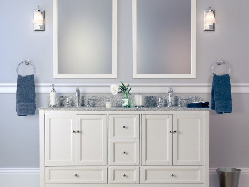 Framing A Bathroom Mirror Ideas