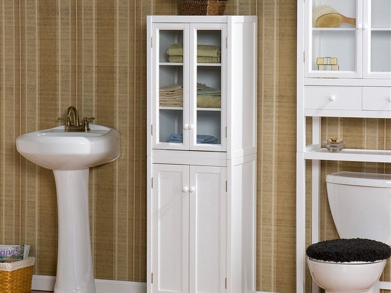 Freestanding Tall Bathroom Cabinets