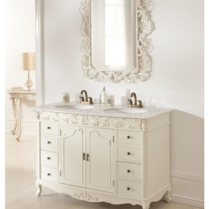 French Bathroom Vanity Cabinets