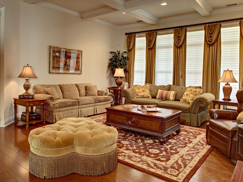 French Country Leather Couch