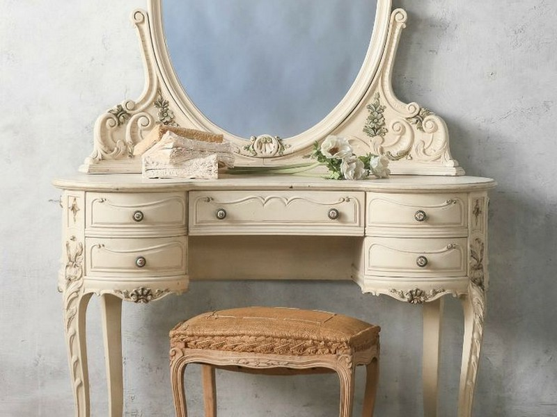 French Country Vanity Table