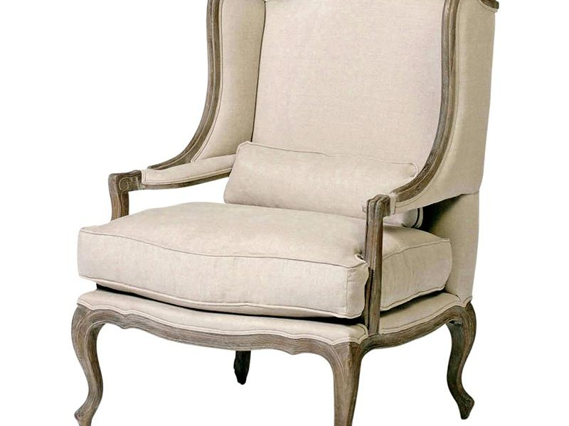 French Provincial Wingback Chair
