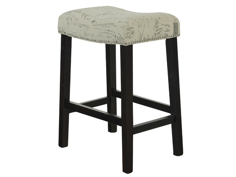 French Script Counter Stools