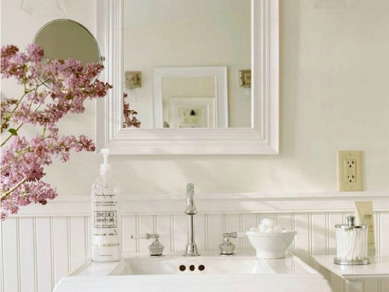 French Shabby Chic Bathroom Ideas