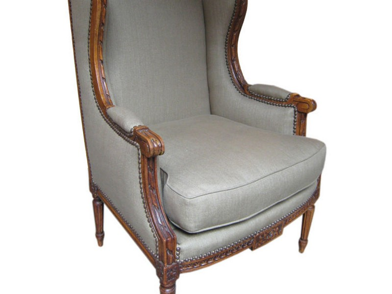 French Wingback Chair