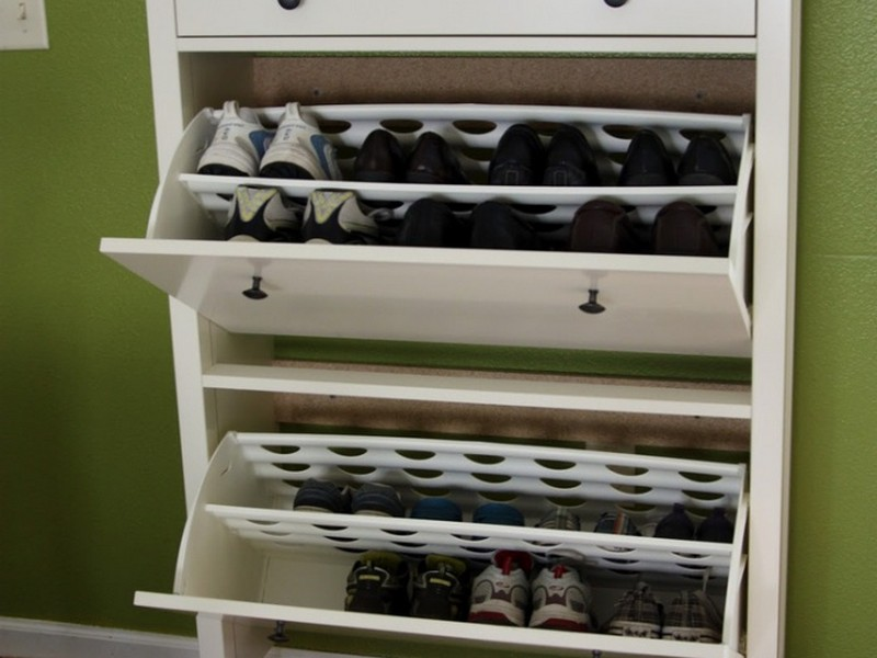 Front Door Shoe Storage