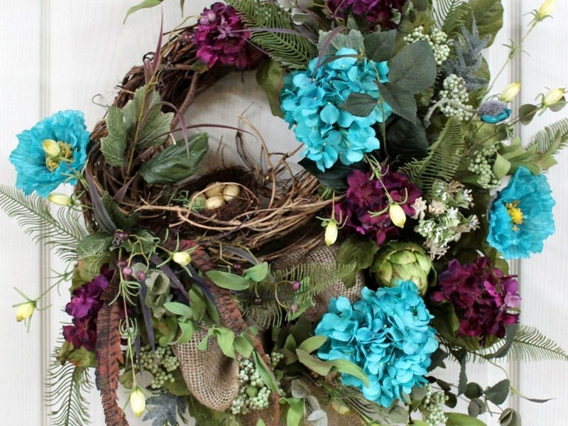 Front Door Wreaths For Spring And Summer