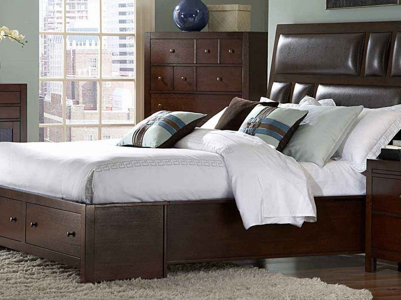 Full Bed With Drawers Underneath