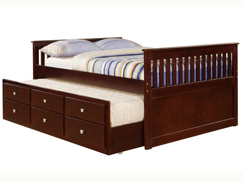 Full Beds With Trundle
