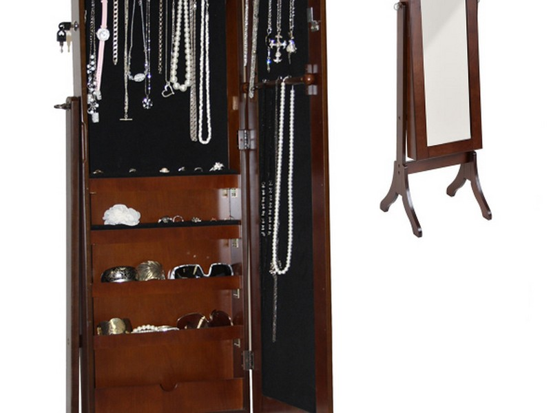 Full Length Mirror Jewelry Cabinet Copy