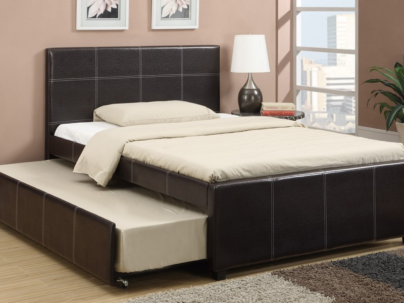 Full Size Bed With Twin Trundle