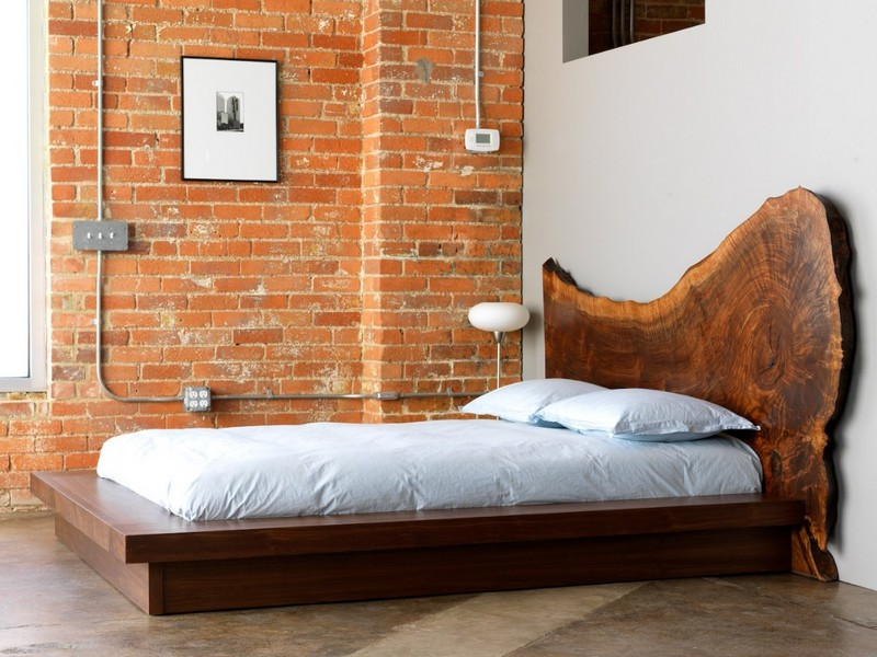 Full Size Bed Without Headboard