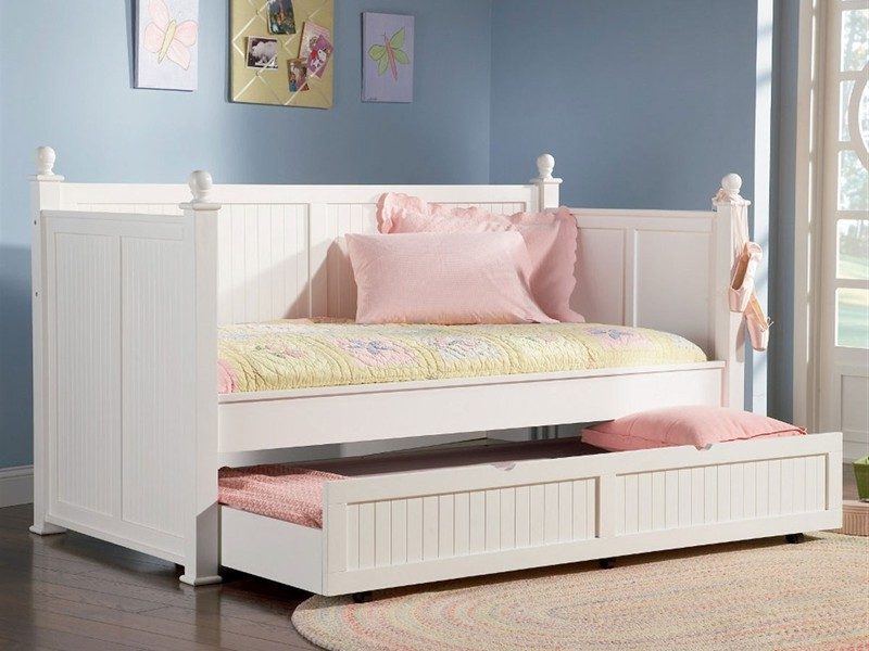 Full Size Daybed With Trundle And Storage