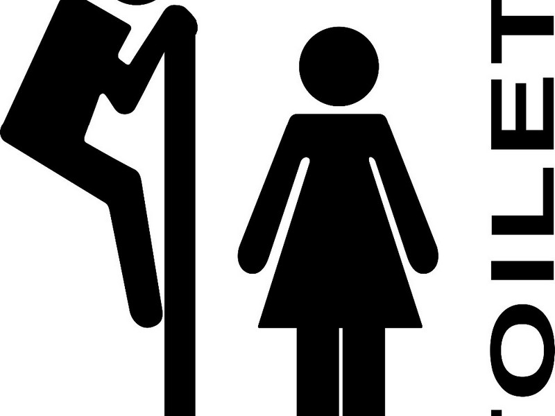Funny Bathroom Door Signs